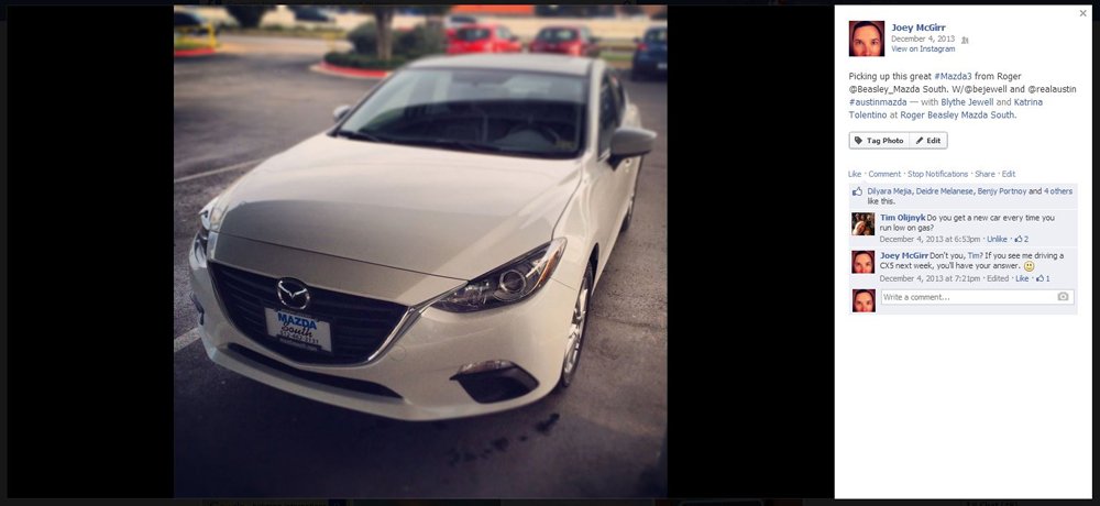 On December 4th, The Three Mazda Teers Met At The South Dealership To Swap  Cars. This Time, I Was Trading The 6 For The 3. Although The 3 Has Been  Receiving ...
