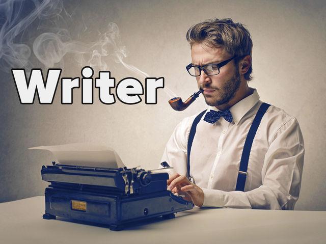 Hello, I'm a writer